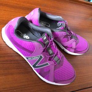 New Balance Purple Athletic Shoes